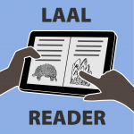 LAAL reader icon text